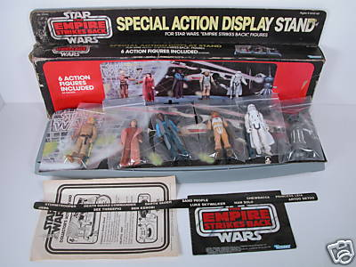 Powerofthetoys MailAway Star Wars Action Collectors Stand Custom Star Wars Action Figure Display Stand